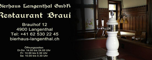 Rest Braui / Bierhaus Langenthal